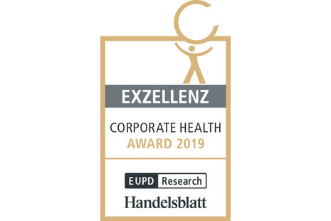 Logo Corporate Health Award 2019